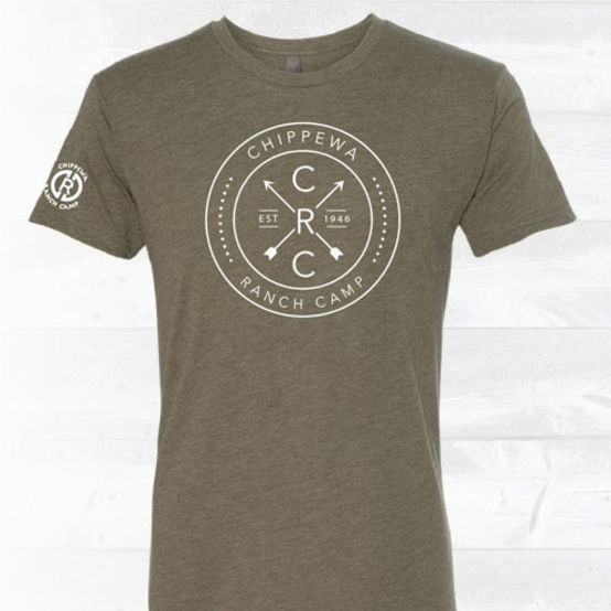 NEW Limited Edition Military Green Chippewa Tee