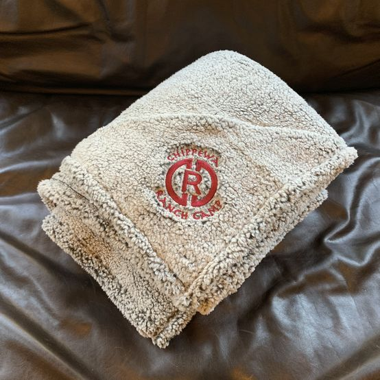 Limited Edition CRC Sherpa Blanket