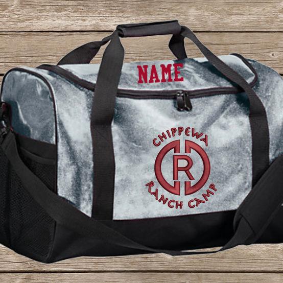 CRC Glitter Duffel Bag