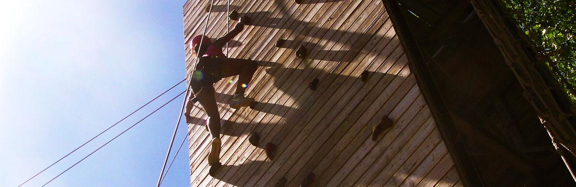 Climbing-wall-angled