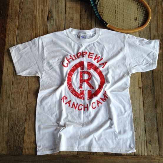 Chippewa Ranch Camp Logo Tee